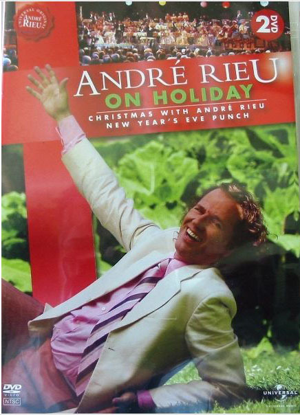 Andre Rieu - On Holiday (2 Disc Set) on