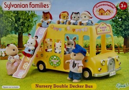 Sylvanian Families: Nursery Double Decker Bus image