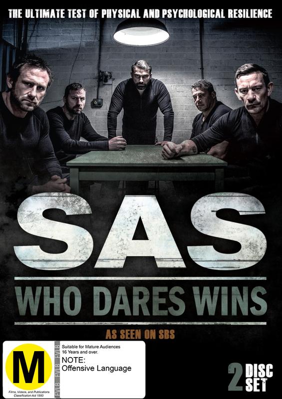 SAS: Who Dares Wins on DVD