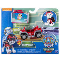 Paw Patrol: Mini Vehicles - (Marshall's Rescue Rover)