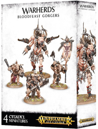 Warhammer Age of Sigmar: Warherds Bloodfeast Gorgers