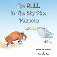 The Bull in the Sky Blue Muumuu by Penny Ross Burk