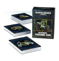 Warhammer 40,000 Datacards: Thousand Sons