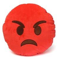 Very Angry Emoji Cushion - 34cm