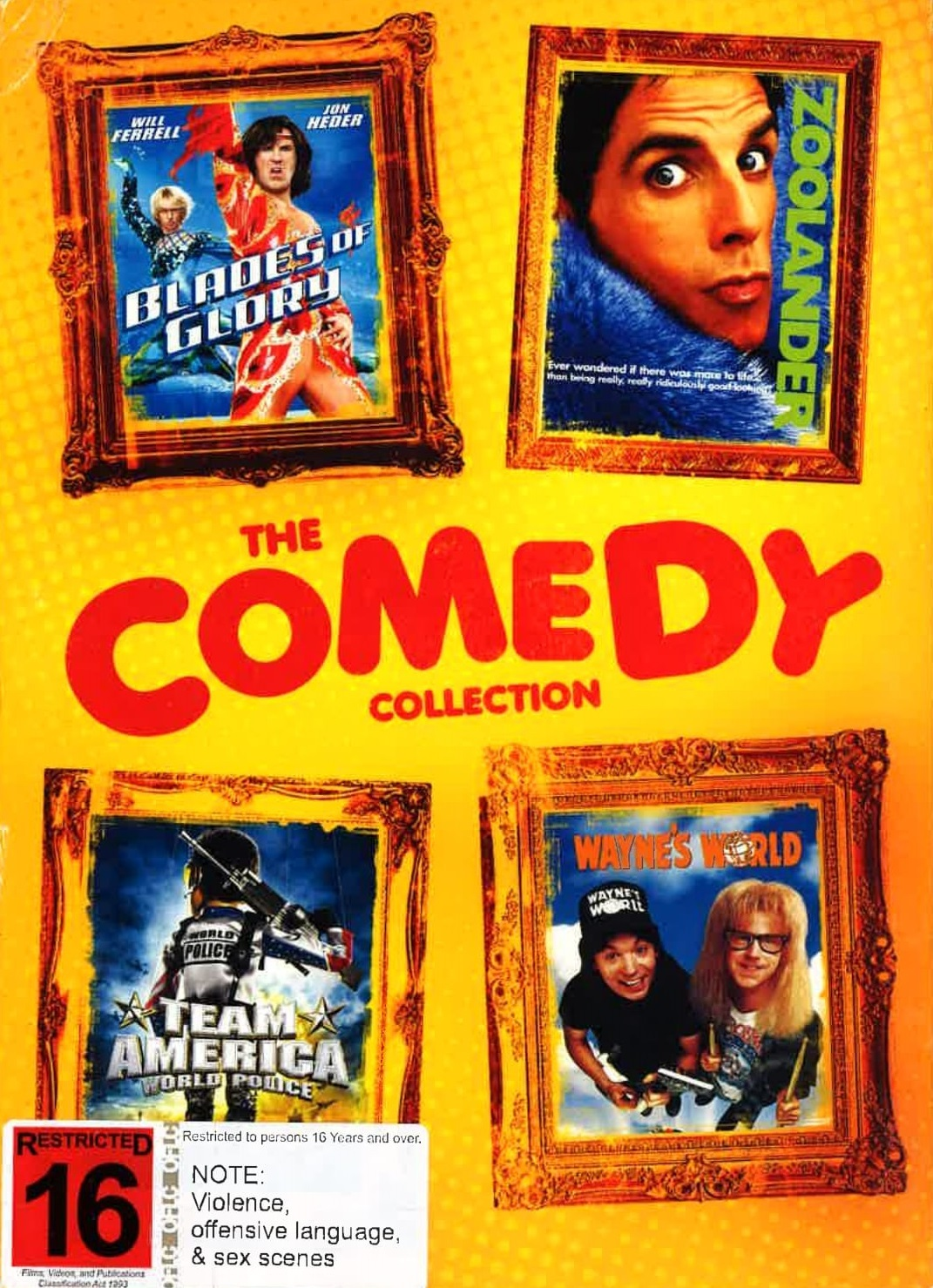 The Comedy Collection on DVD image