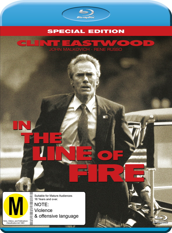 In The Line of Fire on Blu-ray