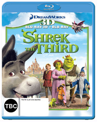 Shrek the Third - 3D Combo on Blu-ray, 3D Blu-ray image