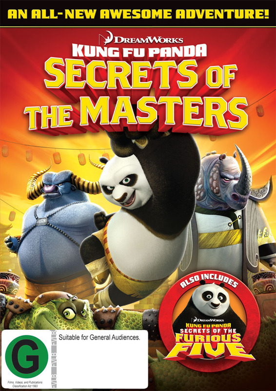 Kung Fu Panda: Secrets of the Masters/Secrets of the Furious Five on DVD