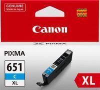 Canon Ink Cartridge - CLI651XLC (Cyan High Yield)