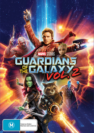 Guardians of the Galaxy Vol. 2 on DVD