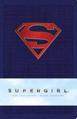 Supergirl Hardcover Ruled Journal by Insight Editions