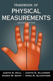 Handbook of Physical Measurements by Judith G. Hall image