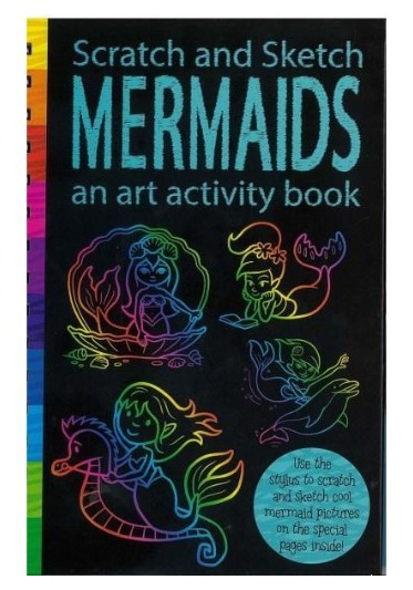 Scratch & Sketch: Activity Book - Mermaids