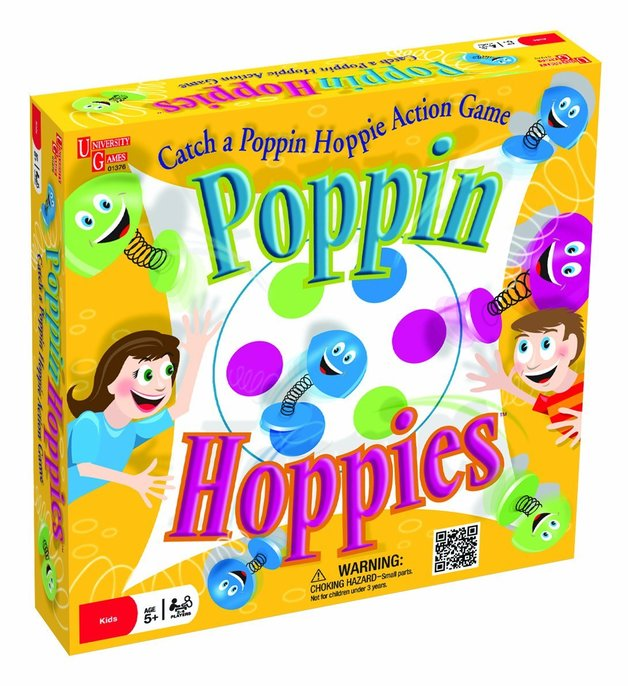 Poppin Hoppies - Board Game