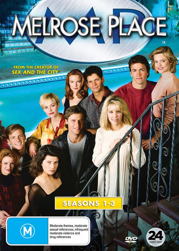 Melrose Place Seasons 1-3 on DVD