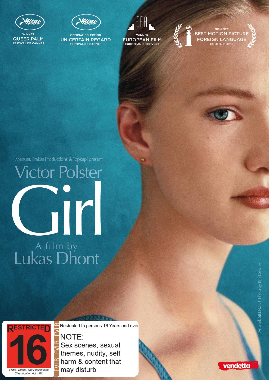 Girl on DVD image
