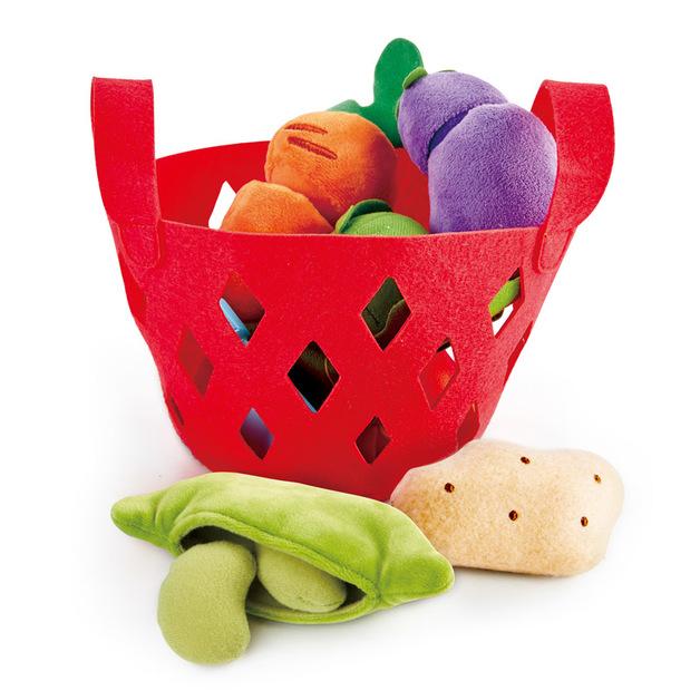 Hape: Toddler Vegetable Basket - Roleplay Set