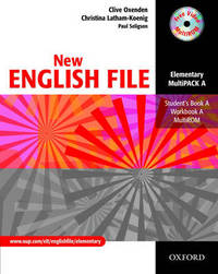 New English File: Elementary level: Multipack A: Student's Book and Workbook in One