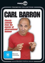 Punchline Premium: Carl Barron Live (With Bonus Signed Poster) on DVD