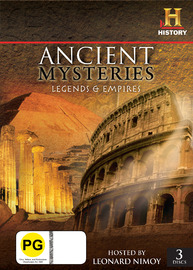 Ancient Mysteries - Legends & Empires (History) (3 Disc Set) on DVD