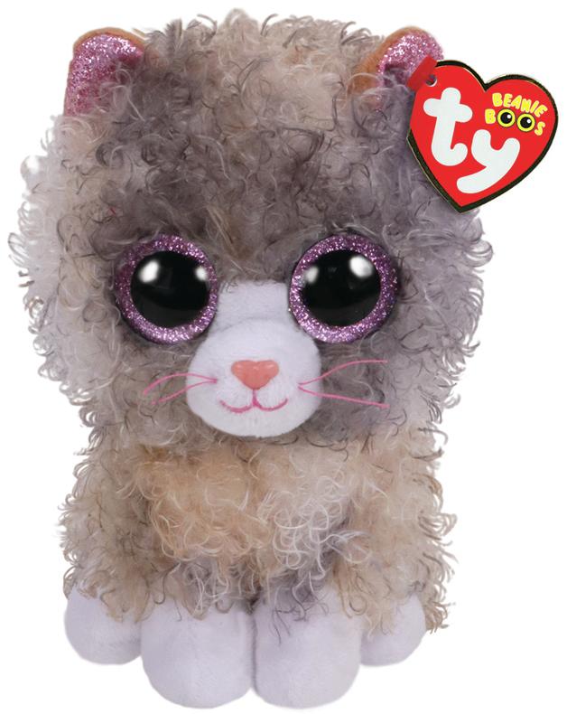 Ty Beanie Boo: Scrappy Cat - Small Plush