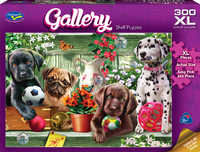 Holdson XL: 300 Piece Puzzle - Gallery S6 (Shelf Puppies image