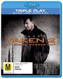 Taken 2 on DVD, Blu-ray