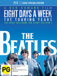 The Beatles: Eight Days a Week - The Touring Years (Deluxe DigiBook Edition) on Blu-ray image