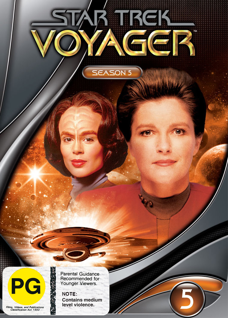 Star Trek: Voyager - Season 5 (New Packaging) on DVD image