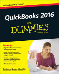 QuickBooks 2016 For Dummies by Stephen L. Nelson