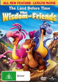 The Land Before Time 13 - The Wisdom Of Friends on DVD image