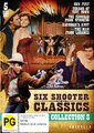 Six Shooter Classics Western Collection - Vol 3 on DVD