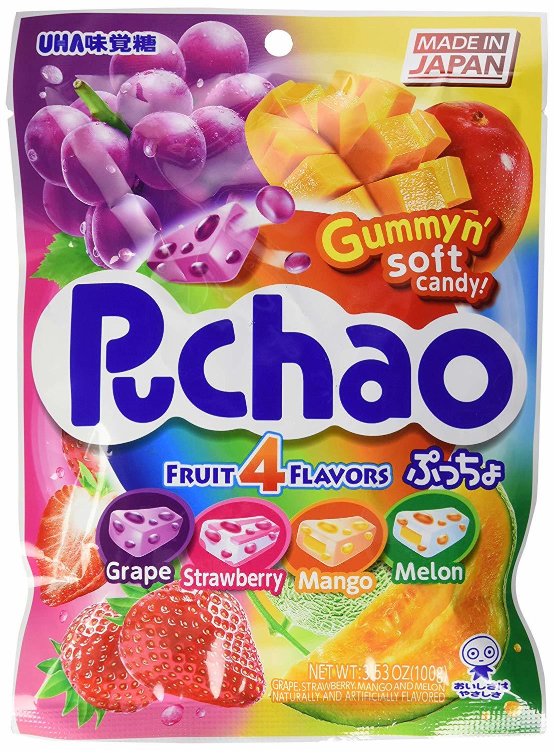 Gummyn' Soft Candy: Puchao - Fruit Mix 100g (20 Pieces) image