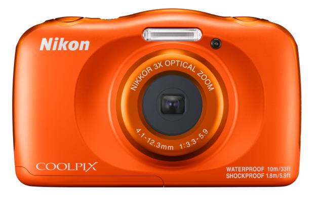 Nikon Coolpix W150 Compact Digital Camera - Orange