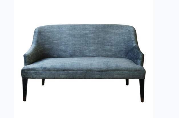 Madras Link: Velvet Sofa (Grey)