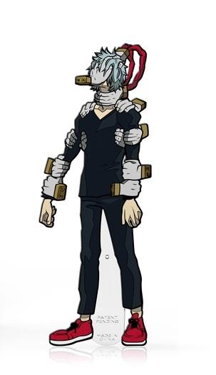 My Hero Academia: Tomura Shigaraki (#358) - Collectors FiGPiN