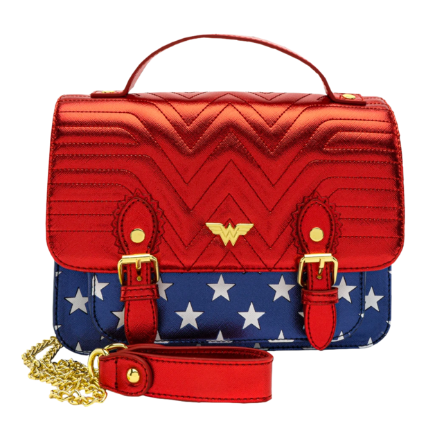 Loungefly: Wonder Woman - Classic Costume Crossbody Bag