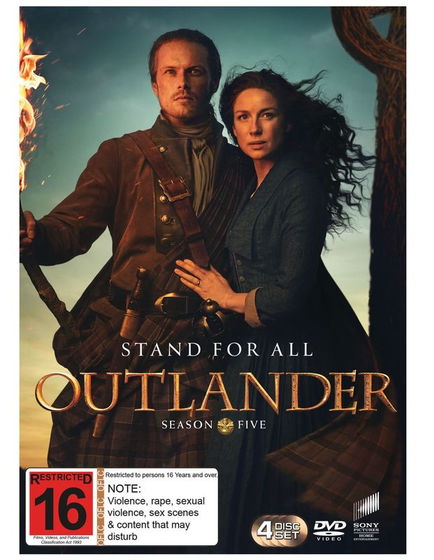 Outlander - Season 5 on DVD
