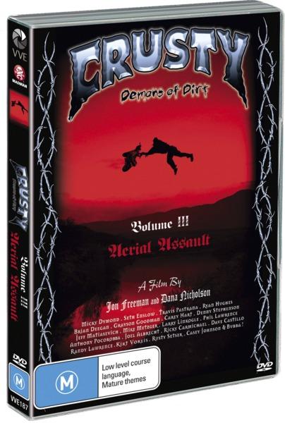 Crusty Demons: Volume 3 - Aerial Assault