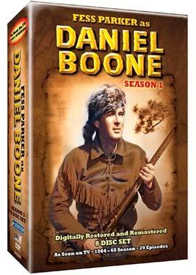 Daniel Boone (1964) - Season 1 (8 Disc Box Set) Black and White on DVD