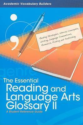 Essential Reading and Language Arts Glossary 2 by Red Brick Learning