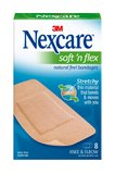 Nexcare Soft'n Flex Bandages (Knee and Elbow 8s)