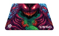 SteelSeries Steelpad Qck+ CS:GO Hyper Beast Edition for