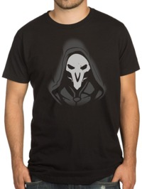 Overwatch Reaper Remorseless T-Shirt (XXX-Large)