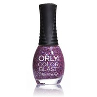 Orly Color Blast Chunky Glitter Nail Color - Peony (11ml)