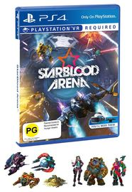 StarBlood Arena VR for PS4