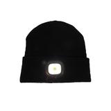 LED Beanie: High Power Waterproof Beanie (Black)
