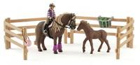 Schleich: Rider with Icelandic Ponies