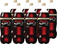 Vanilla Coke Zero Soft Drink Vanilla (1.5l X 8)