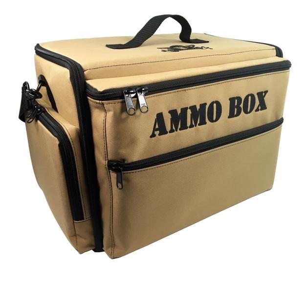Battle Foam: Ammo Box - Standard Load Out for 28-32mm Models (Khaki)